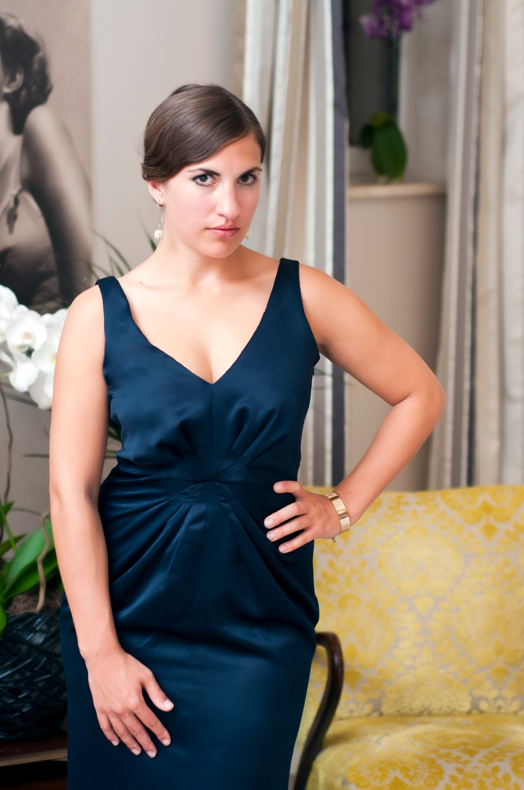 Ready To Hit The Ballroom – Langes Abendkleid mit Schleppe – Julia Jamei