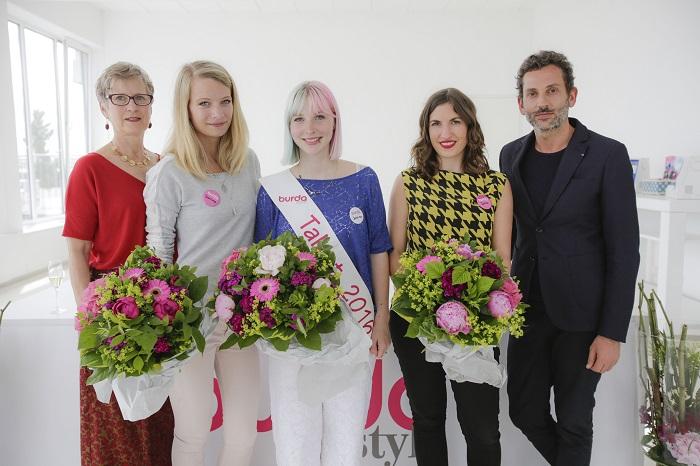 burda style Talent 2016 mit Designer Dimitri und Gabriele Albert Wurst in der Jury