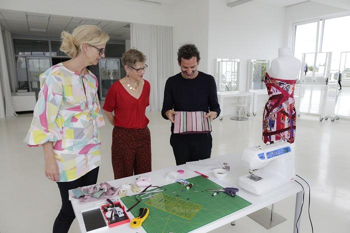 Die Jury - Dagmar Bily, Designer Dimitri, Gabriele Albert-Wurst