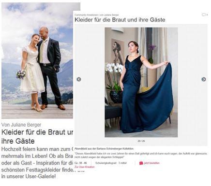 Featured by burda style - Thema Kleider für die Braut und ihre Gäste