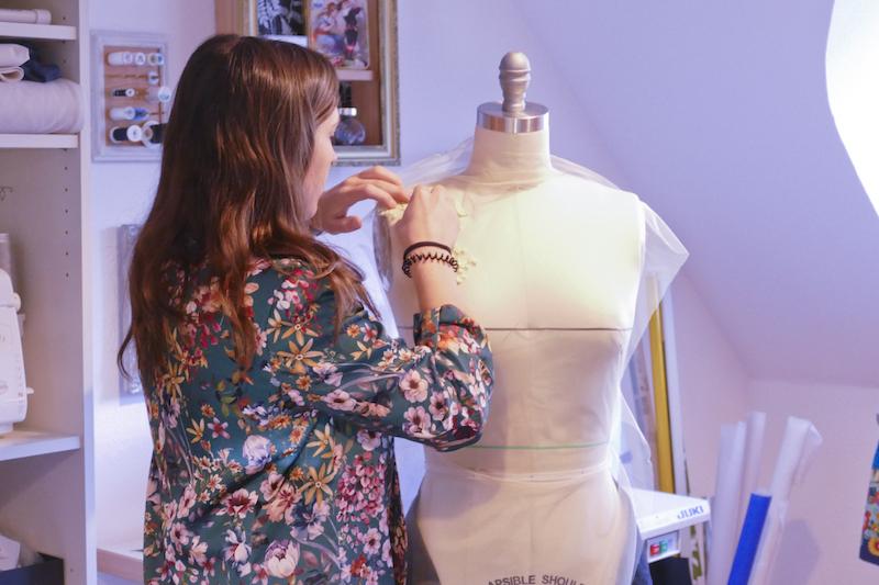 Haute Couture Nähen - Spitzenkleider gestalten